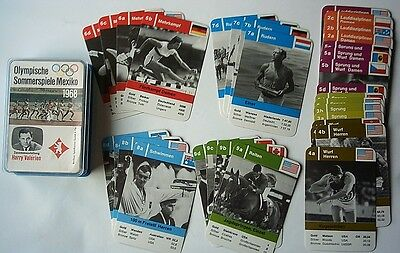 Orig.card game  Olympic Games MEXICO 1968 // 36 cards // Excellent Condition  !!