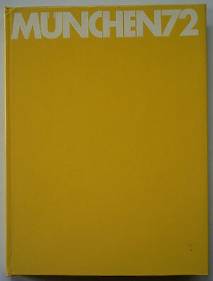 Orig.Book / Report    Olympic Games MÜNCHEN 1972 - in English/French/Italian !!