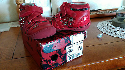 Chaussures fille Catimini pointure 22 (rouges)