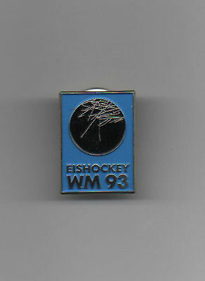 Orig.pin / badge   Ice Hockey World Championship GERMANY 1993  -  OFFICIAL LOGO