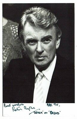 Peter Byrne Actor Bread  Vintage Hand signed Photograph 5 x 3