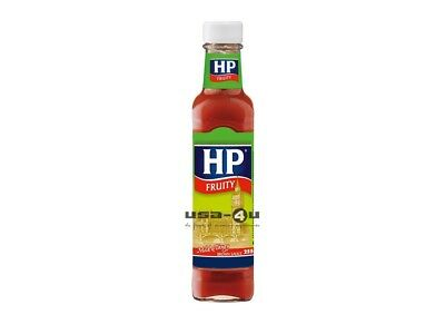 HP Fruity Brown Sauce Mild & Tangy 255g