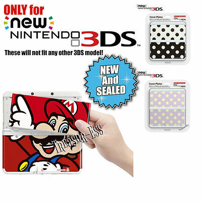 ✿ NEW NINTENDO 3DS ●● COVER FACE PLATES SET ●● Your Choice **REDUCED TO CLEAR**