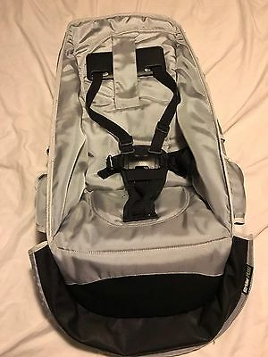 SILVER TOP SEAT Fabric Steelcraft Strider COMPACT OR PLUS. No Frame.