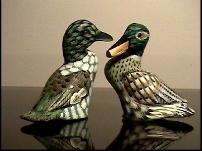 "Third pair of 4"" ducks (model 891), hand-made in early 90's"