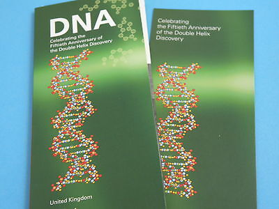 2003 Royal Mint BRILLIANT UNCIRCULATED PRESENTATION PACK - DNA DOUBLE HELIX £2