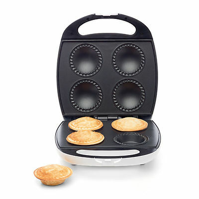 Pie Maker Non Stick Plate Easy Cooking Pastry Bakes Effortless Nonstick 4-piece