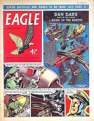 EAGLE - 6th SEPTEMBER 1957 (4 - 10 Sept) - RARE 60th BIRTHDAY GIFT !! VG+..dandy