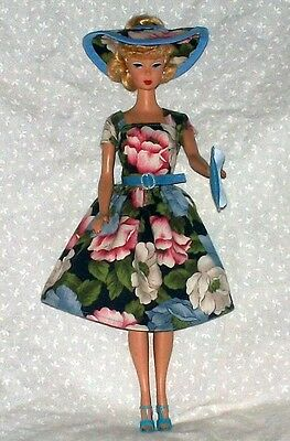 Handmade New Clothes Outfit For Vintage and Reproduction Barbie 5