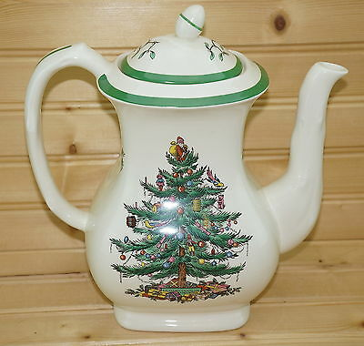 Spode Christmas Tree Pair Of Tall 5 3 8
