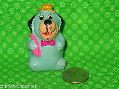 "Vintage HUCKLEBERRY HOUND TERRA COTTA Painted Figure 2.5"" tall"