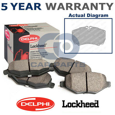 Rear Delphi Brake Discs 276mm Solid Pair Set Fits Iveco Daily 35 S 10 29 L 12
