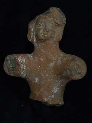 Ancient Large Size Teracotta Torso Bactrian C.300 BC  #SG2926