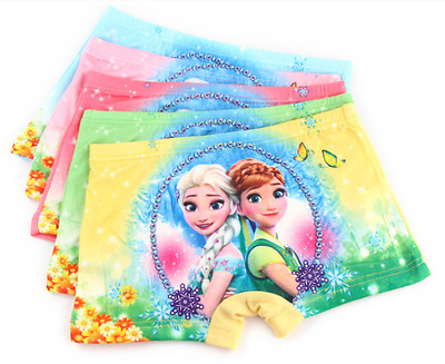 Girls Underwear Panties Princess Frozen Elsa & Anna New & Beautiful 5 pairs k75