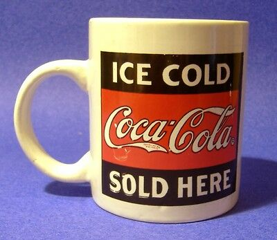 Coca-Cola - 8 Assorted Coffee Cups / Mugs