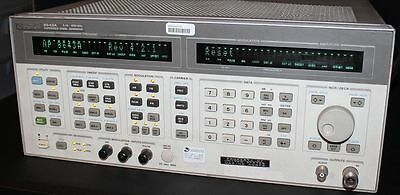 Hp 8643A Synthesized Signal Generator Opt H02 K01 Calibrated Thru September 2017