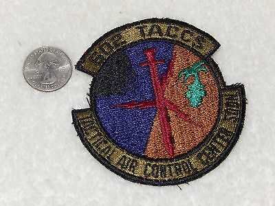 Bergstrom AFB Texas USAF 602 Tactical Air Control Center Squadron Patch.
