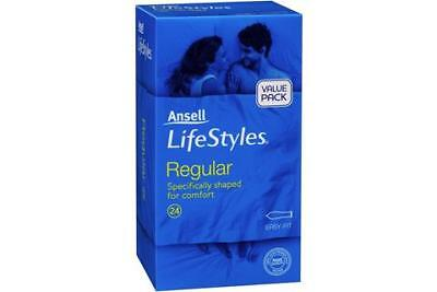 Ansell Lifestyles Regular Easy Fit Condoms 24PK