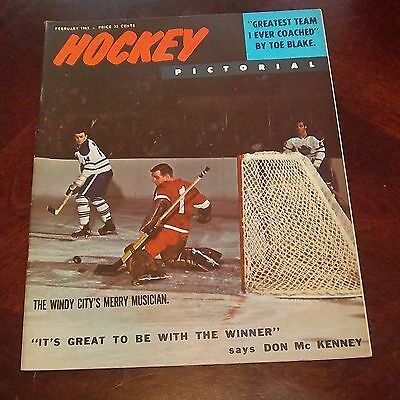 Hockey Pictorial February 1965 Dave Keon   # 2