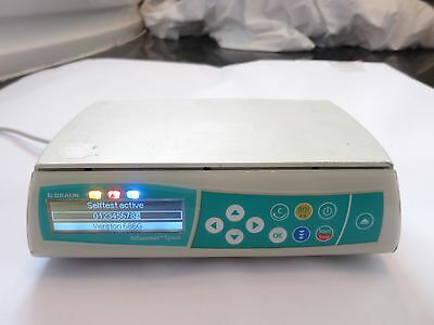 B Braun Medical Infusomat Space Compact Patient Iv Infusion Syringe Pump Driver
