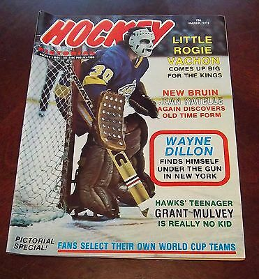 Hockey Pictorial March 1976  Rogie Vachon  # 2