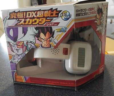 Dragon Ball Z Kai Ultimate DX Super Warrior Red Scouter DBZ Vegeta Frieza Voices