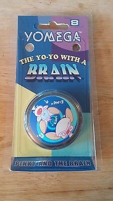 Pinky and the Brain Yo-Yo Yomega NEW IN PACK SEALED1999 Warner Brothers