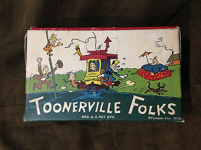 1930 Uneeda Bakers Toonerville Folks Cracker Box Vintage