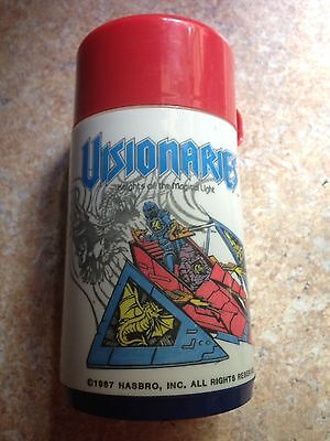 HASBRO Visionaries 1987 Thermos w/ Spout Knights Of Magical Light Darkling Lords
