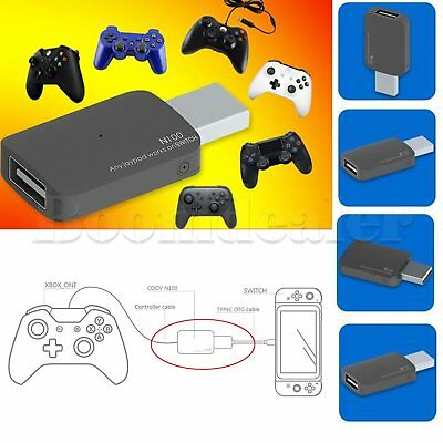 Nintendo Switch NS USB Controller Converter Adapter for Xbox One Slim /PS3/PS4