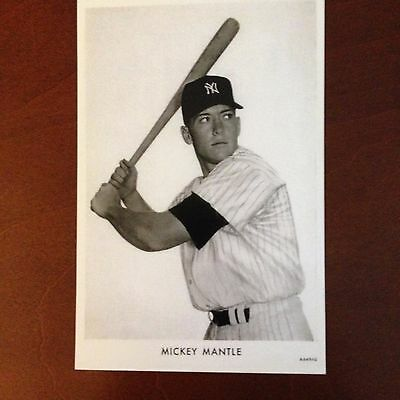 (2) Mickey Mantle  Postcards