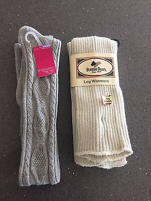 NEW NWT Women's Leg Warmers and Thigh Highs Bonnie Doon - Free Shipping