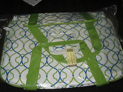 Longaberger Large Everyday Essentials Insulated Cool/Protecter Coastal Gate NIP