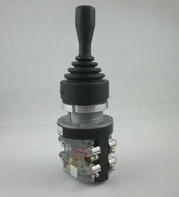 Joy Stick 380V 15A Cross Switch 4 Position 4 Contacts Momentary NO Normally Open