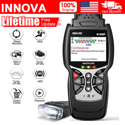 Foxwell NT634 Engine ABS SRS Transmission OBD2 Car Diagnostic Tool Auto Scanner