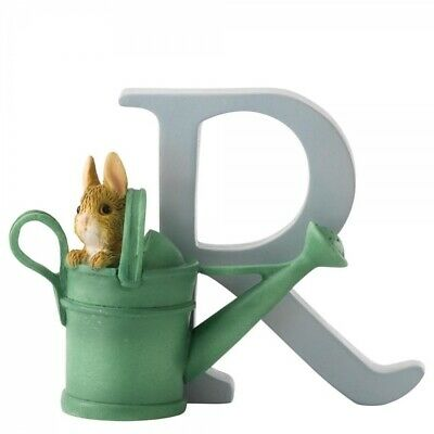 Beatrix Potter Alphabet - R - Peter Rabbit in Watering Can - A5010