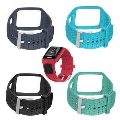 Replacement Silicone Strap Band for TomTom Runner Cardio /Multi-Sport GPS Watch