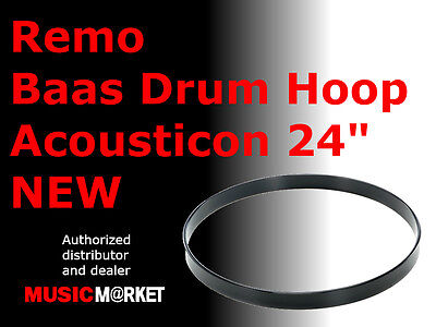 "Remo Baas drum hoop Acousticon 24"" NEW"