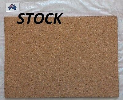 1 pc. Cork Sheet 200 x 300 x 6 mm for model train underlay,diorama, pin board