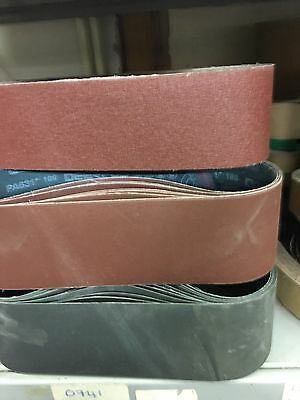 1 x 150 X 1220mm Sanding Belt zirconium 24 Grit Make In England