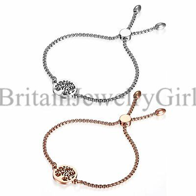 Tree of Life Freely Adjustable Bracelet Jewelry For Women Cuban Chain Bangle