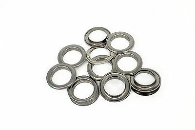 40mm Eyelets with Washers Gun Metal Brass Rust Proof Leather Work Arts & Crafts