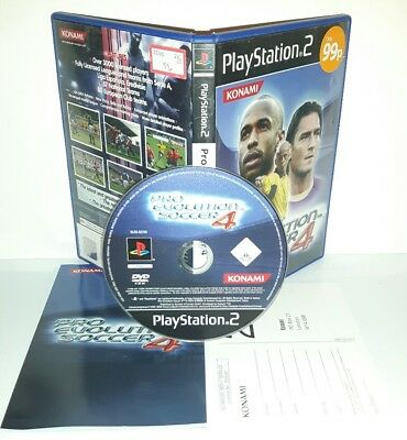 PRO EVOLUTION SOCCER 4 PES CALCIO - Ps2 Playstation Play Station 2 Gioco Game