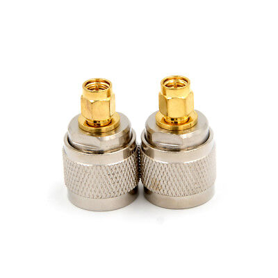 N-Type N Male Plug to SMA Male RF Coaxial Adapter Connector 1Pcs