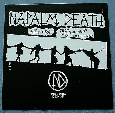 Vinyl, LP, von Napalm Death ‎– Hatred Surge / From Enslavement To Obliteration