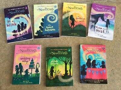 Lot Of 7 Disney The Never Girls Book Set 1-7 EUC