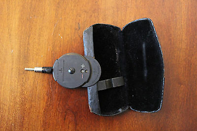 Vintage May Ophthalmoscope Wappler Electric Company, New York ~ With Case