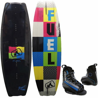 FUEL Respect 140 Wakeboard Package Hyperlite Spin Wakeboardbindung
