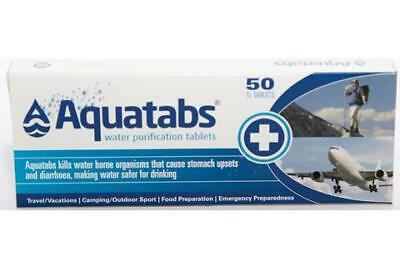 Aquatabs Water Purification Tablet- 50 Tablets