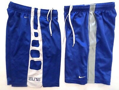 NIKE DRI FIT Boys Size Small (lot Of 2) Athletic Basketball Shorts